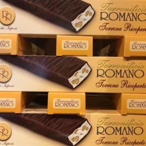 Torrone ricoperto al Cioccolato